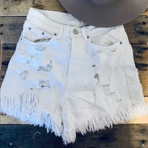 ZARA TRF MOM HIGH WAIST Shorts